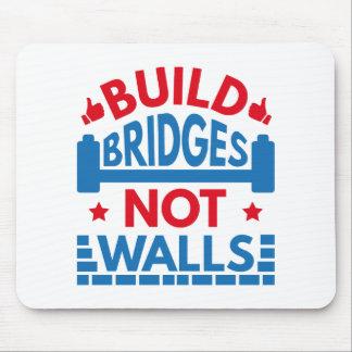 Mousepad A construção constrói uma ponte sobre não paredes