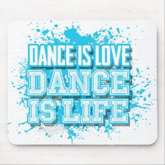 Mousepad A dança é dança do amor é tapete do rato vivo