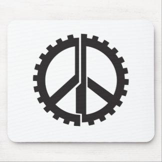 Mousepad A engrenagem da paz da PÁGINA