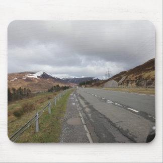 Mousepad A estrada longa das montanhas