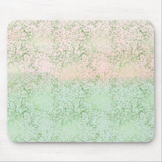 Mousepad A hortelã cora pontos cor-de-rosa dos confetes da