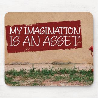 Mousepad A imaginação é um recurso