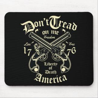 Mousepad A liberdade da morte EUA vive livre