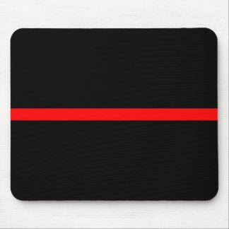 Mousepad A linha vermelha fina simbólica decoração