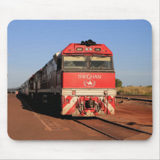 Mousepad A locomotiva do trem de Ghan, Darwin
