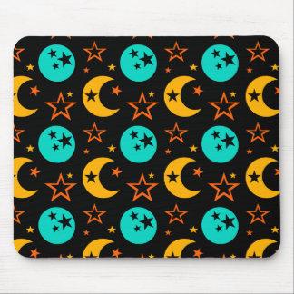 Mousepad A lua Stars a astrologia estrelado Wiccan da