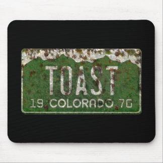 Mousepad A matrícula velha de Colorado brindou automóveis