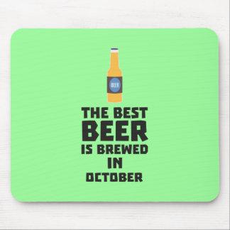 Mousepad A melhor cerveja é em outubro Z5k5z fabricado