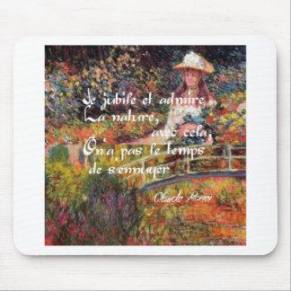 Mousepad A natureza no art. de Monet
