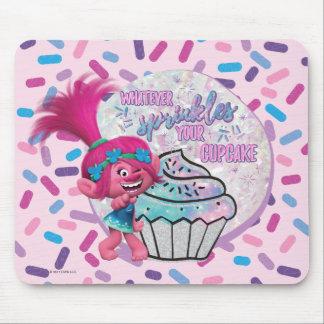Mousepad A papoila dos troll | polvilha seu cupcake