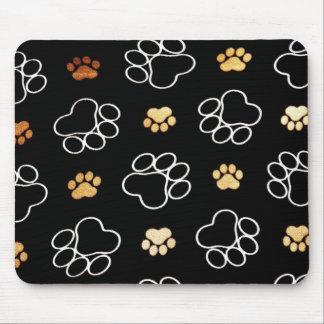 Mousepad A pata do filhote de cachorro do cão imprime prese