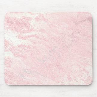 Mousepad A pedra do ouro do rosa do rosa Pastel cora