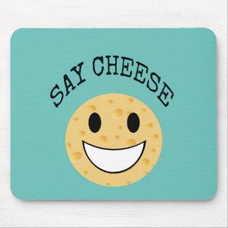 Mousepad a piada bonito engraçada diz o queijo