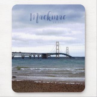 Mousepad A ponte de Mackinac