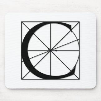 Mousepad A proporção divina - C