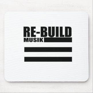 Mousepad A reconstrução ostenta o logotipo