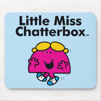 Mousepad A senhorita pequena pequena Chatterbox da