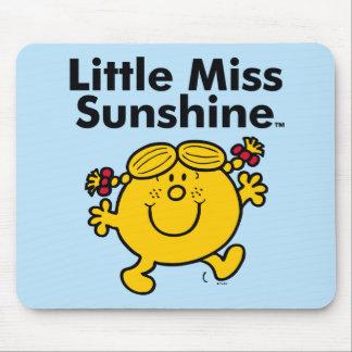 Mousepad A senhorita pequena pequena Luz do sol da
