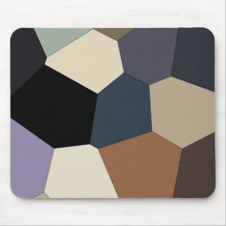 Mousepad A terra tonificou o teste padrão abstrato colorido