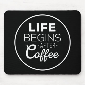 Mousepad A vida começa após o café