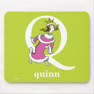 Mousepad ABC do Dr. Seuss: Letra Q - O branco | adiciona