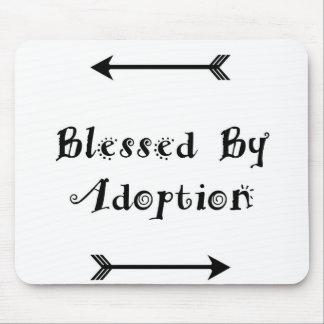 Mousepad Abençoado pela adopção - assistência social