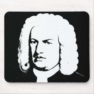 Mousepad Abstractamente e Johann Sebastian Bach em preto