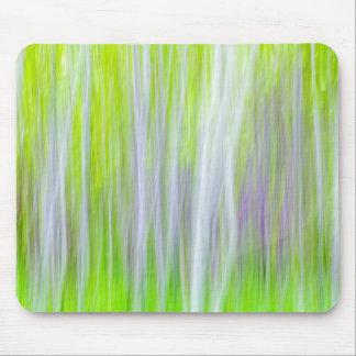 Mousepad Abstrato da fuga do rio das árvores | Yakima de