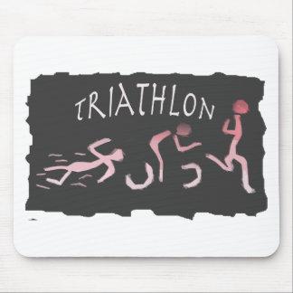 Mousepad Abstrato do funcionamento da bicicleta da natação