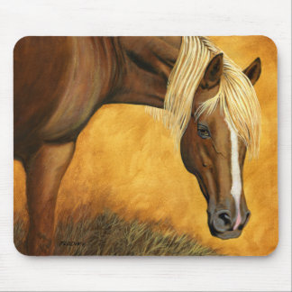 """Mousepad """"Acima para cavalo do quarto do leilão"""" -"""