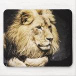 Mousepad africano do leão