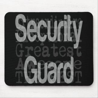 Mousepad Agente de segurança Extraordinaire