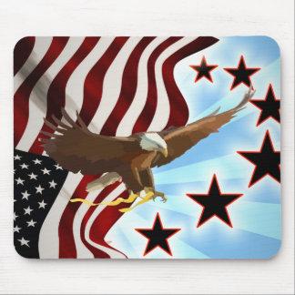 Mousepad Águia americana