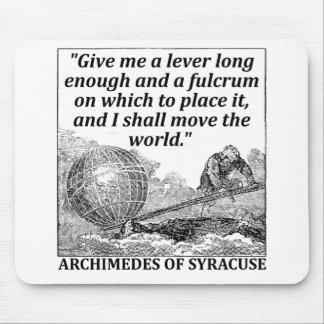 Mousepad Alavanca de Archimedes