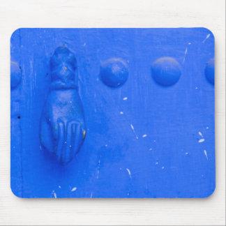 Mousepad Aldrava de porta azul