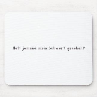 Mousepad Alemão - espada