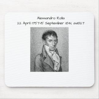 Mousepad Alessandro Rolla antes de 1827
