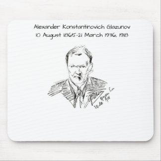 Mousepad Alexander Konstamtinovich Glazunov 1918
