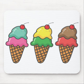 Mousepad Alfombrilla ordenador Ice Cream