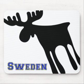 Mousepad Älg / Moose, Sweden
