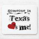 Mousepad Alguém em Texas ama-me