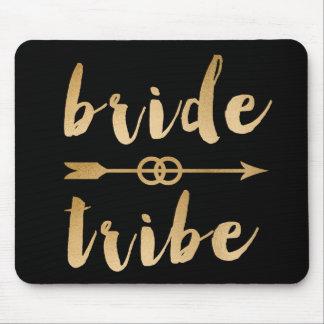 Mousepad alianças de casamento elegantes da seta do tribo