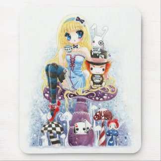 Mousepad Alice no país das maravilhas