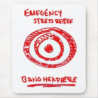 Mousepad Alívio de tensão da emergência