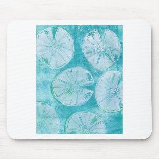 Mousepad Almofadas de lírio branco