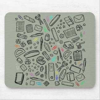 Mousepad Amante dos artigos de papelaria