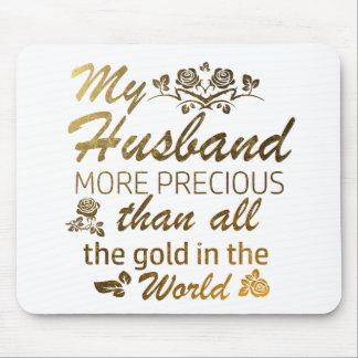 Mousepad Ame meu design do marido