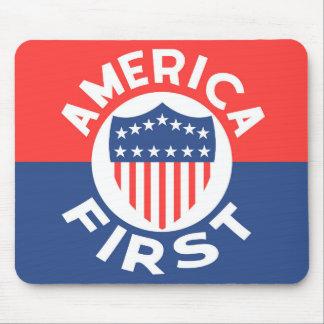 Mousepad AMÉRICA PRIMEIRAMENTE! Anti patriotismo dos EUA da