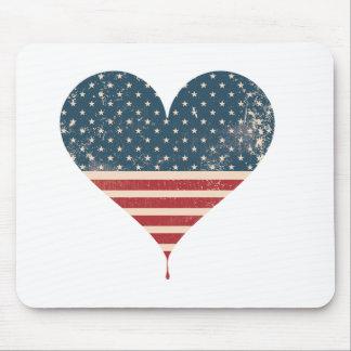 MOUSEPAD AMERICAN-HEART
