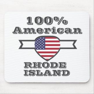 Mousepad Americano de 100%, Rhode - ilha